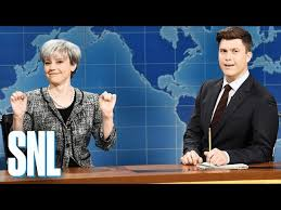 Kinky Katie Meme - theresa may mocked by kate mckinnon in hilarious saturday night live