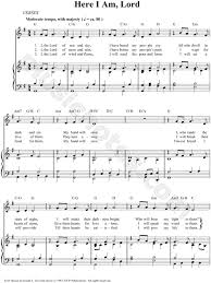 here i am lord beautiful hymn sung during our rite of recognition