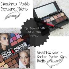 sephora thanksgiving sale my sephora vib sale haul featuring smashbox cosmetics simply stine