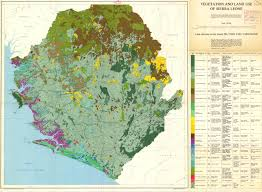 Africa Topographic Map by The Soil Maps Of Africa Display Maps