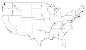 to draw a us map