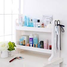 Kitchen Sink Shelf Organizer by 2017 Diy Plastic Double Layer Bathroom Storage Rack Kitchen Sink