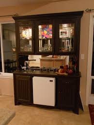 kitchen bar featured mini fridge cabinet under countertop and