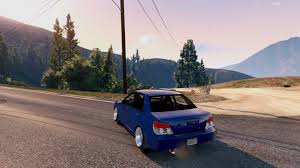 slammed subaru wrx 06 subaru wrx add on tuning stanced gta5 mods com