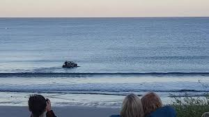 jeep beach wallpaper diners stunned as jeep transforms into boat on cornish beach aol