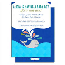 whale baby shower invitations whale baby shower invitations 5 free psd vector ai eps format