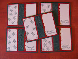christmas handmade christmas cards all white best images
