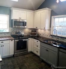 New York Kitchen Cabinets Multi Tone And Multi Finish Kitchens Traditional Kitchen New