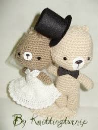 wedding gift knitting patterns knitted wedding favor gift or cake topper
