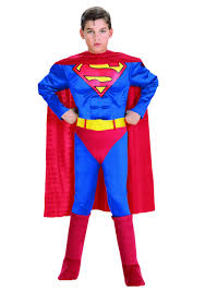 Halloween Costumes Kids Child Deluxe Superman Costume Kids Superman Halloween Costumes