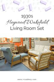 1930s heywood wakefield living room set iris abbey 1930s heywood wakefield