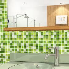 kitchen backsplash mosaic tile mosaic tile backsplash glass wall tiles yf mtlp22 green