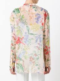 print blouses rochas floral print blouse 680 clothing blouses buy rochas