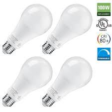 15 5w 4000k 1700lm dimmable ul listed energy star led light bulbs