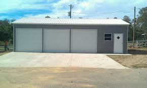3 door garage 24x41x10 3 car garage
