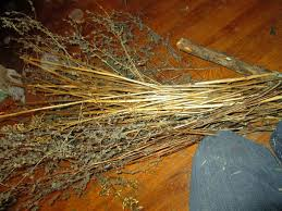 the rehomesteaders diy sparkly witch broom