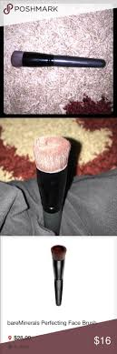 bare minerals brush bare minerals perfecting makeup brush for foundation and easy coverage used