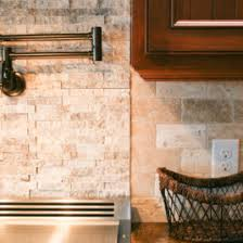 Stacked Stone Backsplash Master Home Design Ideas Rocketwebs - Layered stone backsplash
