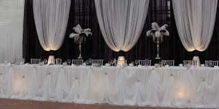 wedding backdrop lighting kit backdrop table skirt food drink that i