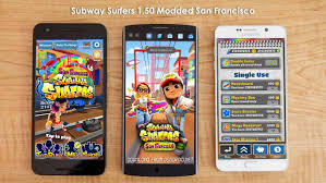 subway surfers modded apk subway surfers 1 50 2 apk modded san francisco unlimited coins