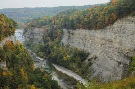Letchworth State Park Map by Gorge Trail From Upper To Lower Falls In Letchworth State Park