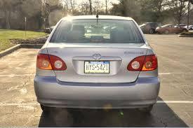 toyota 2006 le excellent condition 2006 toyota corolla le 4 door sedan silver