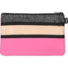 pencil cases typo archer pencil neon pink black glitter from