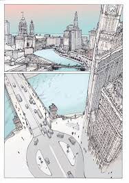 the chicago architecture foundation creates a graphic novel for