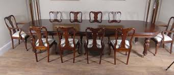 english victorian dining table set queen anne chairs mahogany
