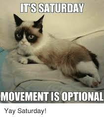 Yay Meme - its saturday movement is optional yay saturday meme on me me