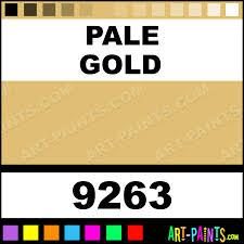 pale gold matte metal and metallic paints 9263 pale gold paint