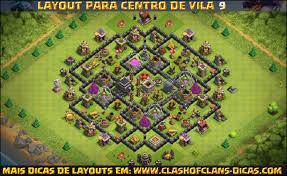 clash of clans layouts de cv9 clash of clans clash of clans dicas