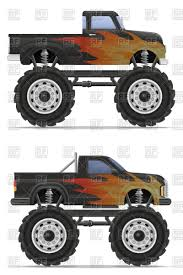 monster truck car pickup vector clipart image 110831 u2013 rfclipart