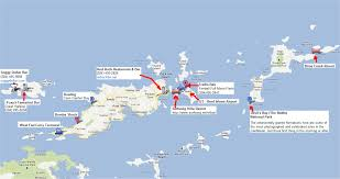 Map Of Virgin Islands 2012 British Virgin Islands
