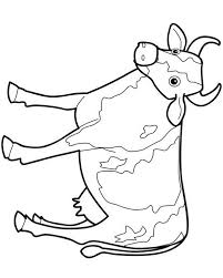 trend cow coloring pages awesome design ideas 1368 unknown