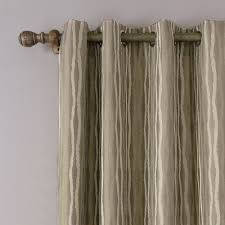 jacquard luxury drapes punching curtains