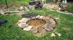 building a cheap firepit youtube
