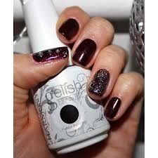 nail harmony gelish berry merry holidays nail harmony from