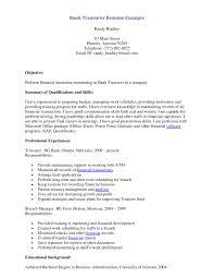 bank teller resume examples entry define rental agreement