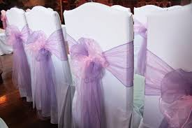 chair ribbons chair sash hire for weddings