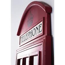 london telephone box mirror caseys furniture