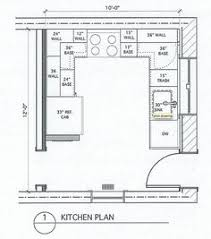 Small Kitchen Floor Plans 10 X 8 Kitchen Layout Search Similar Layout With Island