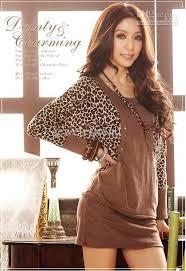 women u0027s cotton dress leopard bat wing long sleeve patchwork