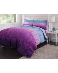 Comfort Set Queen Amazing Cyber Monday Savings On Latitude Ombre Ruched Comforter