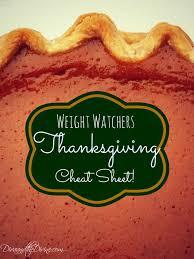 weight watchers sheet for thanksgiving enjoy the