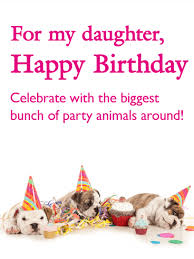 birthday cards for daughter birthday u0026 greeting cards by davia