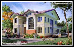 Modern 2 Story House Plans 1940s And 50s House Plans Contemprary Houses Floor Of 2 Story