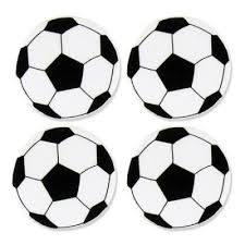 birthday party crafts foam soccer ball shapes