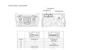 hyundai car radio stereo audio wiring diagram autoradio connector