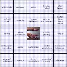 Dresden Files Kink Meme - kink bingo bingo blackout 1000 points